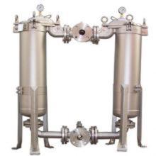 Edelstahl-Sanitär-Filtergehäuse für pharmazeutische Filtration