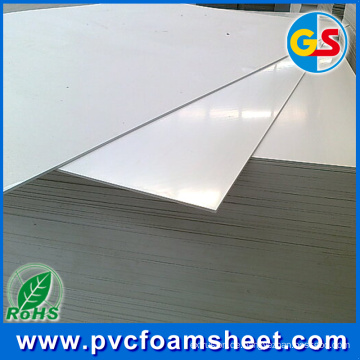 Graue Farbe PVC-Schaum-Blatt-Fabrik