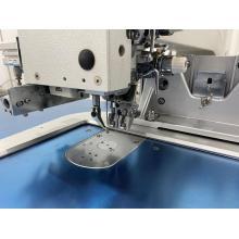 máquina de costura com agulha dupla