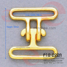 Accessoires de boucle de ceinture en métal chaud anti-laiton sans nickel
