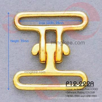 Горячая большая анти-латунная никель-бесплатная металлическая пряжка для ремня