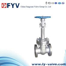 Válvula de compuerta de compuerta criogénica de acero fundido manual