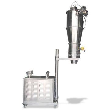 Alimentador de vacío neumático para polvo