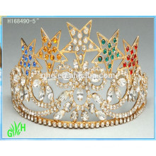 Wholesale Cheap Rhinestone Star Tiara Crown