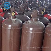 Steel Welding Kit Oxygen/ Acetylene Cylinder Export to Turkey with Valve 40L Low