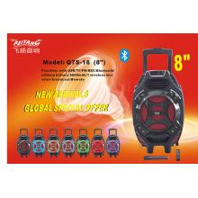 Trolley Speaker with Bt, FM, Q7s-16
