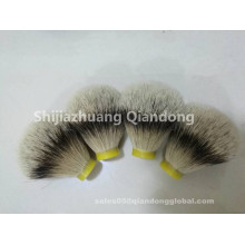 Bulb-shaped Silvertip Badger Hair Shaving Brush Knot