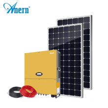 Anern 20kw on-grid solar system without battery
