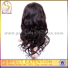 For Black Women With Prices Long Wavy Color Human Hair Loose Wave Wig