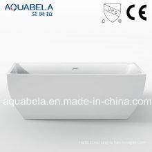 Cupc aprobó bañera de pie acrílico puro (JL611)