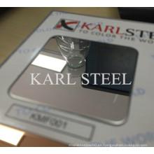 Hoja de Ba de acero inoxidable de alta calidad 430 para materiales de decoración