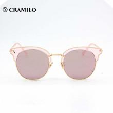gafas de sol de la última moda rosa dama uv400 populares