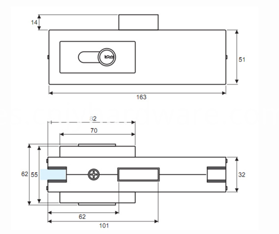 Patch Fittings For Glass Doors