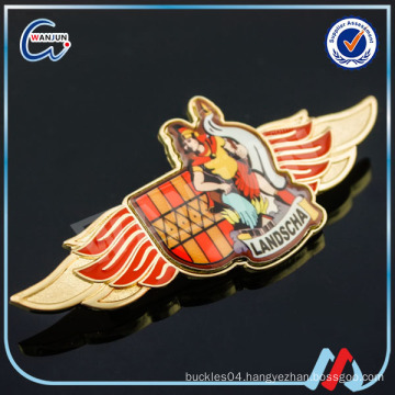 handmade printing airline lapel pins