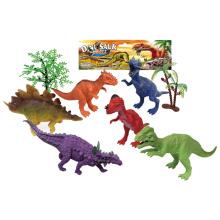 Juguetes de dinosaurio de promoción de plástico 6PCS (10257641)