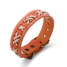 Western-Punkart-Weinlese-Armband gebildet vom Cowmade Heißer Verkauf