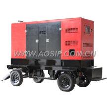 AOSIF China trifásico generador diesel de remolque