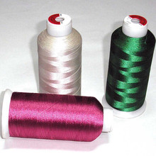 120d/2 (108D/2) 100% Polyester Filament Embroidery Thread
