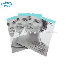 Saco de embalagem máscara facial / saco da folha de alumínio para a máscara facial / embalagem máscara facial