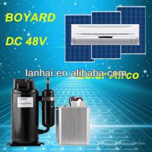 Мобильный автомобильный кондиционер с питанием от аккумулятора dc 24v mini compressor