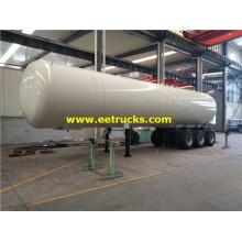 Remorques de livraison de propane au GPL de 58,5 m3
