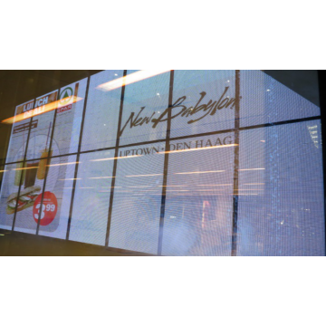 LED P7.81 Transparent New Products Customized Screen Display