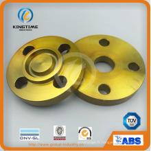 Bride aveugle forgée en acier au carbone d'ASME B16.5 Rtj (KT0246)