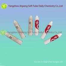 Tubes cosmétiques aluminium & baignoires de peintures colorées de Tubes en plastique