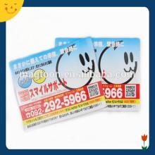 Business item card fridge magnet for advertising