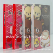 Customize Printed Plastic PP / PVC Photo Albums with Clear Plastic Case