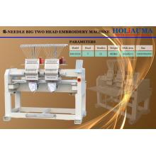HOLiAUMA Хорошая сделка DAHAO System Two Heads Компьютерная вышивальная машина для коммерческого и промышленного использования