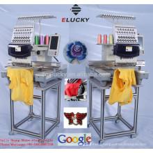 single head commercial embroidery machine 15 color LIKE tajima