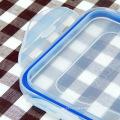 recipiente plástico do compartimento de alimento da microonda