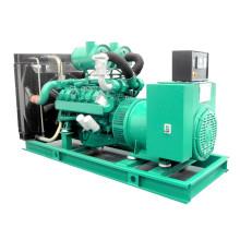 50Hz 550kw Combustible diesel Naturaleza Gas Híbrido Generador de energía