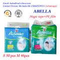 Marca propia de fábrica para el mercado de África Producto para bebés Pañal de pañal más barato desechable