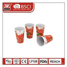 Popular plastic in-mould labeling cup with full printing 12OZ/0.34L