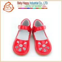 Princesa de sonido pequeño moq niños chillón zapatos al por mayor