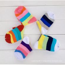 Chaussettes Bas Enfants En Coton Pour Enfants (KA005)