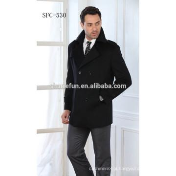 Casacos de lã de moda européia