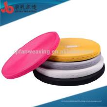 El proveedor de China personaliza el elástico coloreado respetuoso del medio ambiente del okeo-tex del ojal