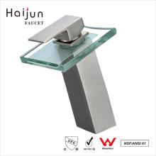Haijun barato Artistic 0.1 ~ 1.6MPa Single Handle torneiras de lavatório de banheiro de latão