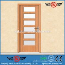 JK-P9085 дешевый интерьер ванной комнаты pvc цена двери qida / pvc машина для экструзии окон и дверей / дверь из ламината