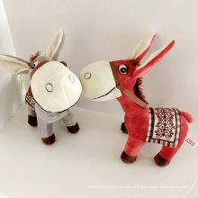 Animal Stufffed realista juguete suave juguete de la felpa del burro para la venta