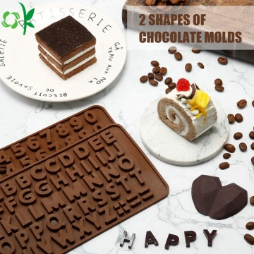 Diamond Heart Chocolate Mold Silikon Aman