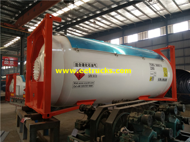 10MT LPG Tank Containers