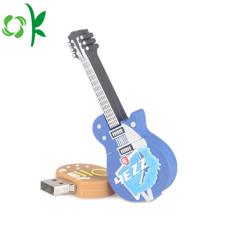 3d Guitar Usb Flash Drive Cover