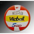 Bola privada del ejercicio de entrenamiento al por mayor de la etiqueta privada de la fábrica bola de voleibol gigante del tamaño estándar de la PU de encargo