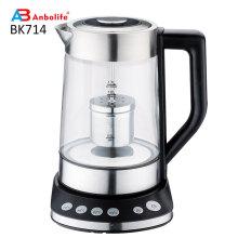 Eletrodomésticos para cozinha quente e chaleira elétrica 1.8L sem fio de 360 graus de água e copo de chá