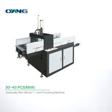 Great Quality U Cut T-shirt Bag Punching Machinery, Non Woven Bag Punching Machine