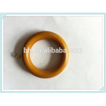 Wholesale Wooden Curtain Rings,Curtain O Ring,Beautiful Bronze Wooden Ring